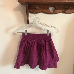Small Violet Aeropostale Miniskirt